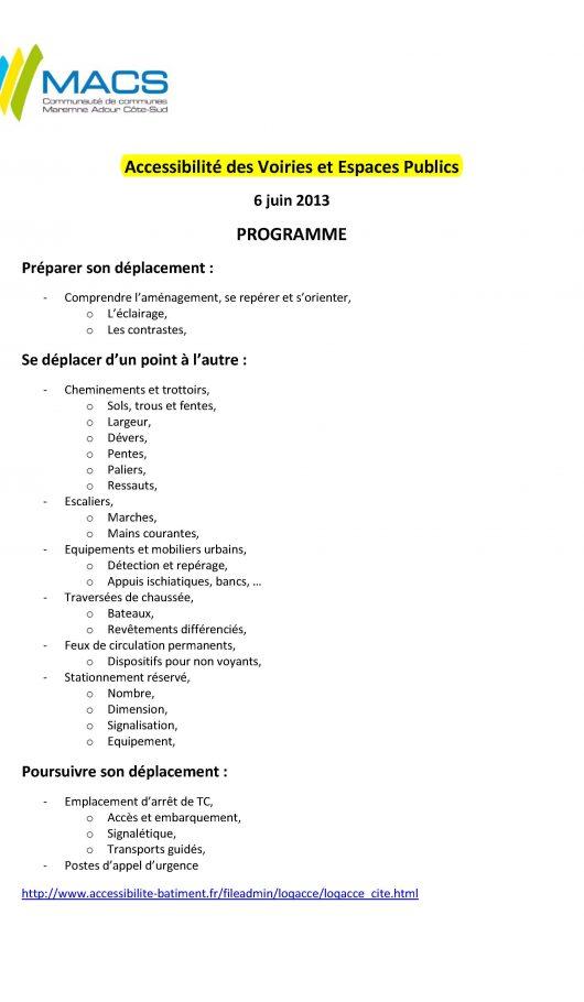 Programme MACS
