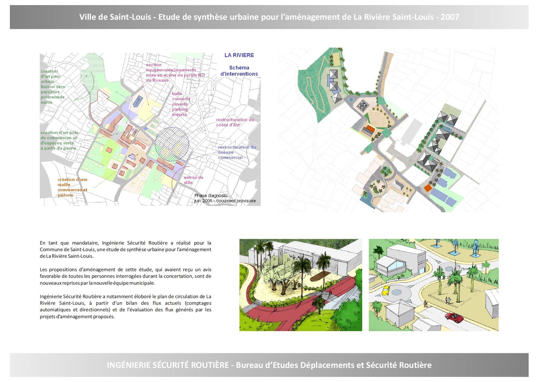 Ville de Saint-Louis : Etude de synthèse urbaine