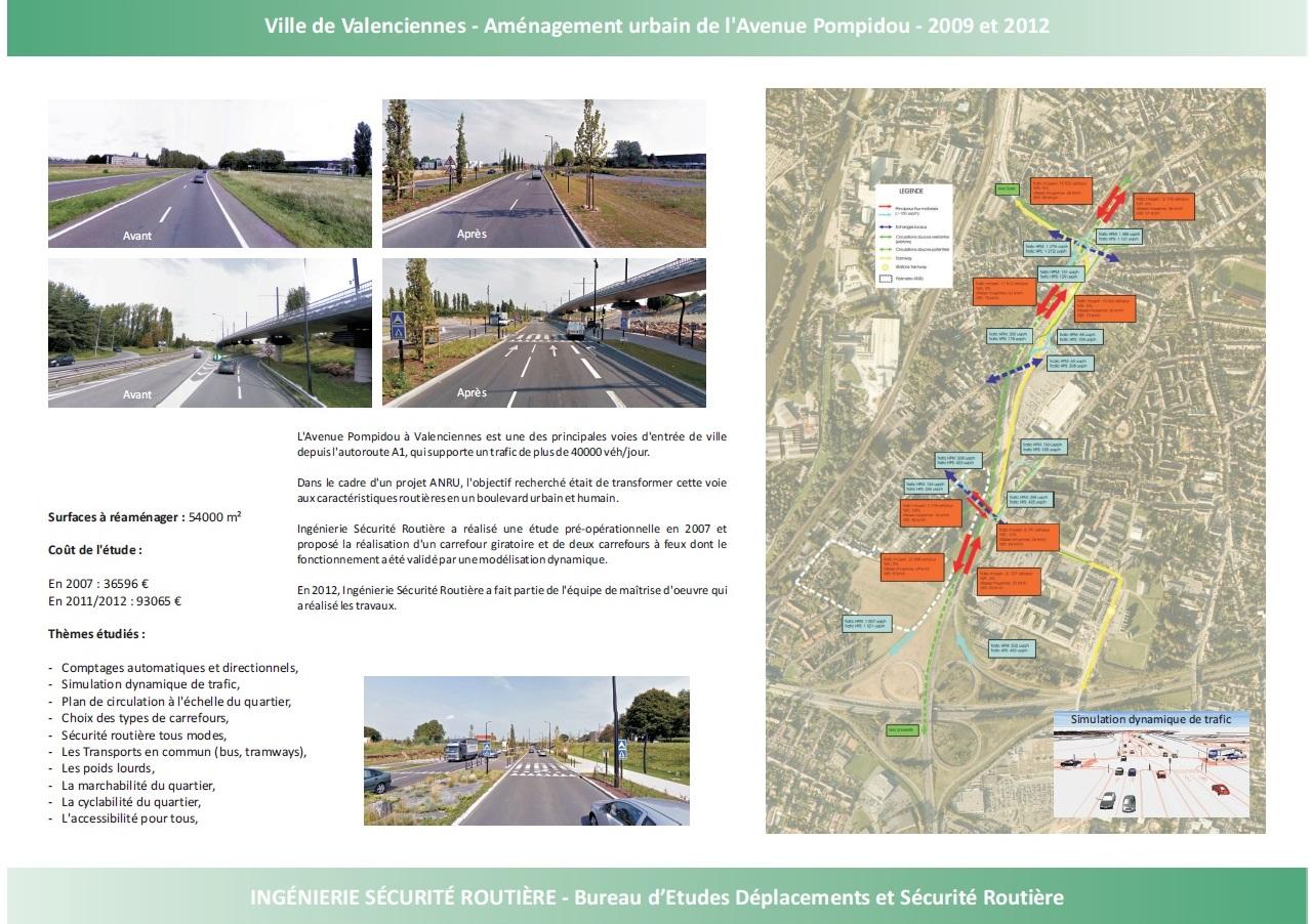 Ville de Valenciennes : Aménagement urbain