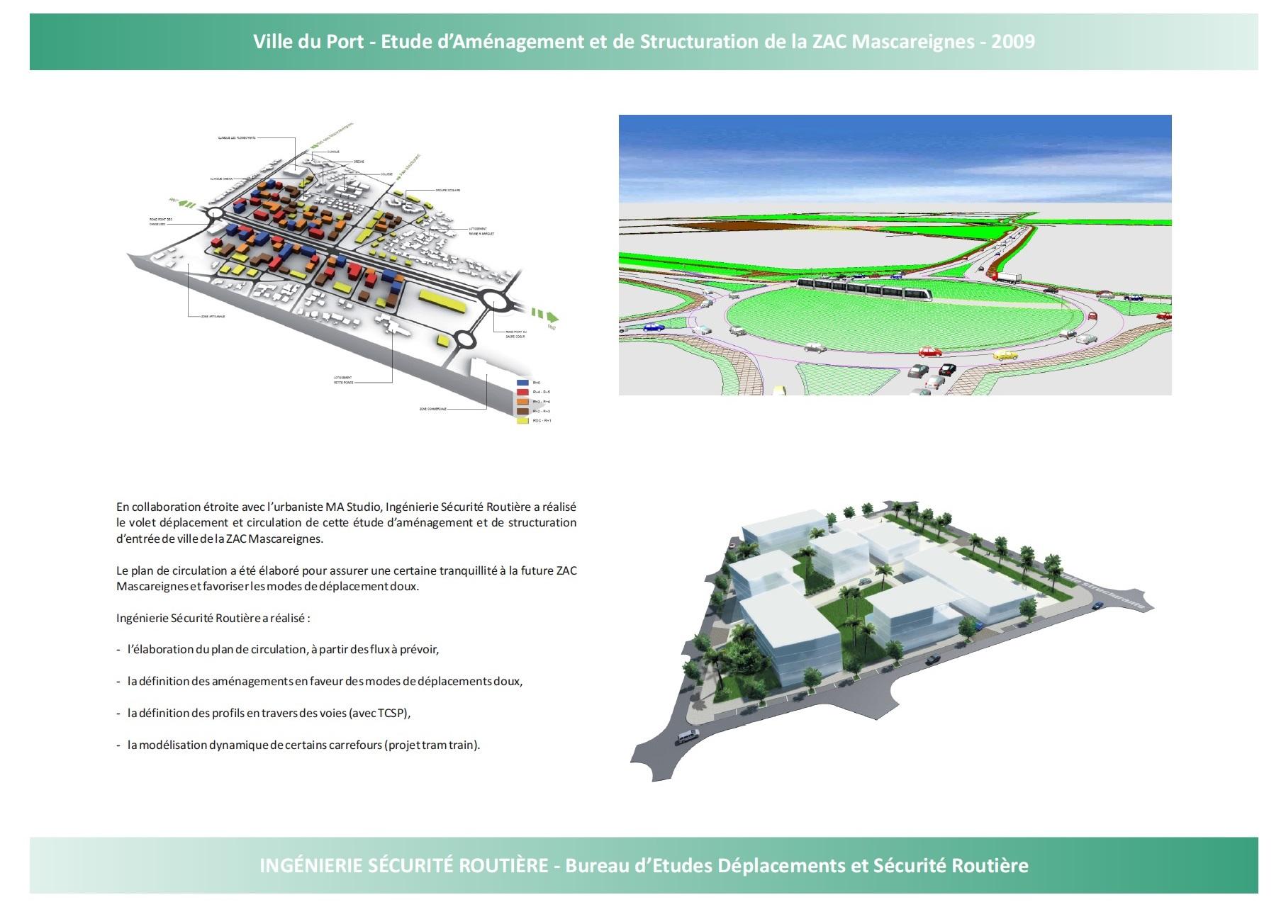 Ville du Port : Etude d'aménagement